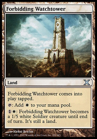 Forbidding Watchtower