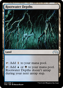 Rootwater Depths