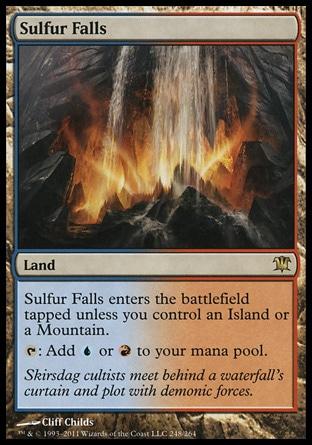MTG Lands - CI: Izzet